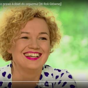 Joanna Keszka, walczy o prawo kobiet do orgazmu! [TVN Style / Magda Mołek]